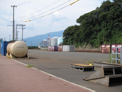 名古屋-敦賀ツーリング・敦賀港駅