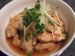 鶏胸肉のさっぱり煮