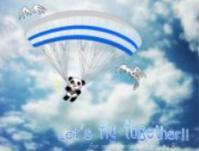 空飛ぶパンダ