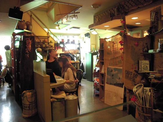 琉球珈琲館 店内