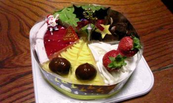 クリスマスケーキ いろいろ
