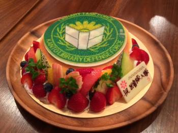 図書戦ケーキ
