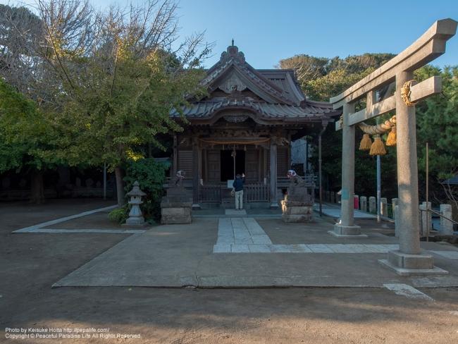 小動神社 (こゆるぎじんじゃ) [A] SS1/160 F9.0 ISO400