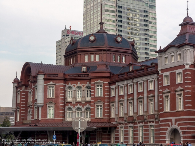 東京駅左側 [A] SS1/400 F8.0 ISO200