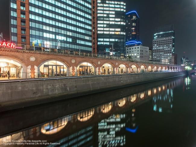 旧万世橋駅と神田川 [A] SS3.20 F11.0 ISO200