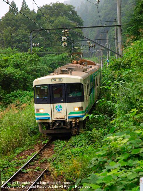 阿武隈急行の列車