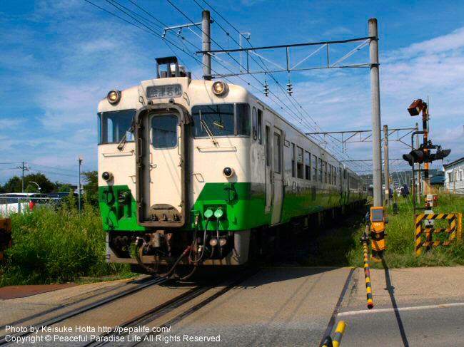 JR磐越西線キハ40系
