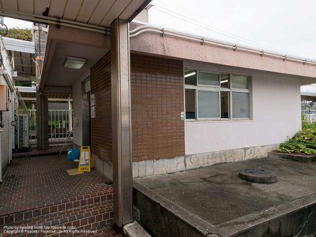 串本駅のトイレ