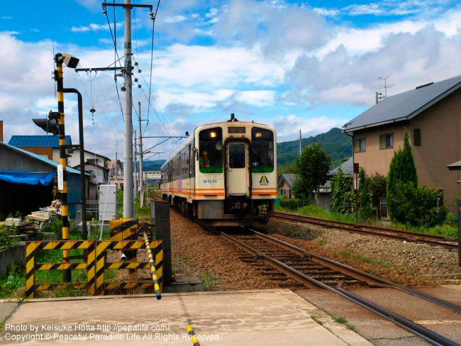 会津鉄道の列車