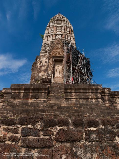 ワット ラーチャブラナ (Wat Rajabrana)の仏塔