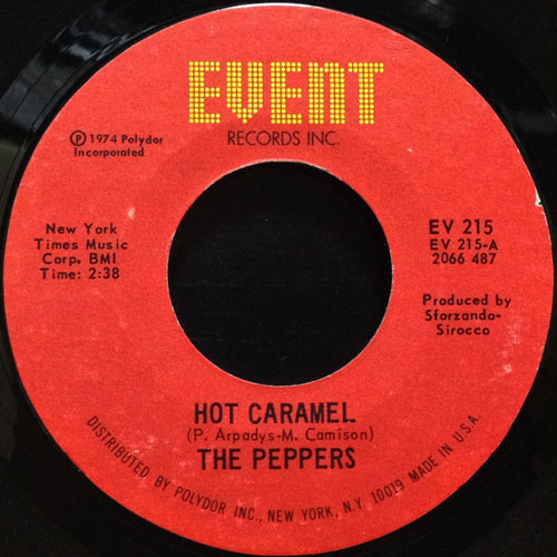 PEPPERS_HOT CARAMEL