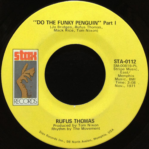RUFUS THOMAS_DO THE FUNKY PENGUIN_201207