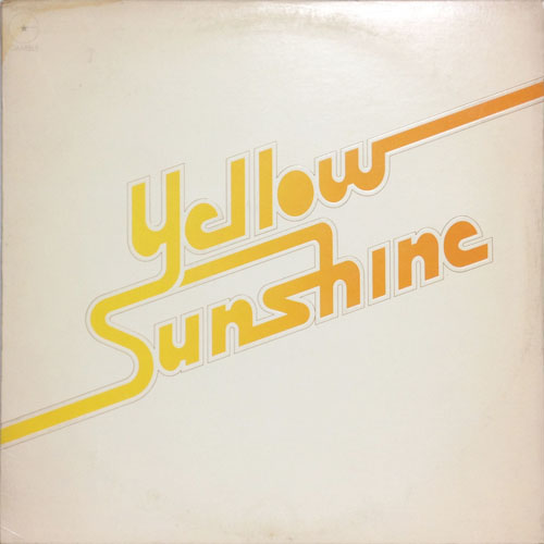 YELLOW SUNSHINE_YELLOW SUNSHINE_201208