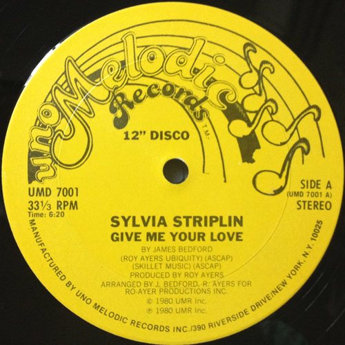 SYLVIA STRIPLIN_GIVE ME YOUR LOVE_201209