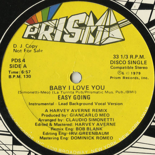 EASY GOING_BABY I LOVE YOU_201211