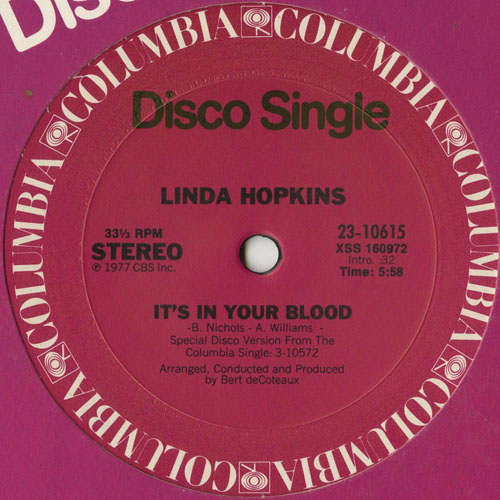 LINDA HOPKINS_ITS IN YOUR BLOOD_201211