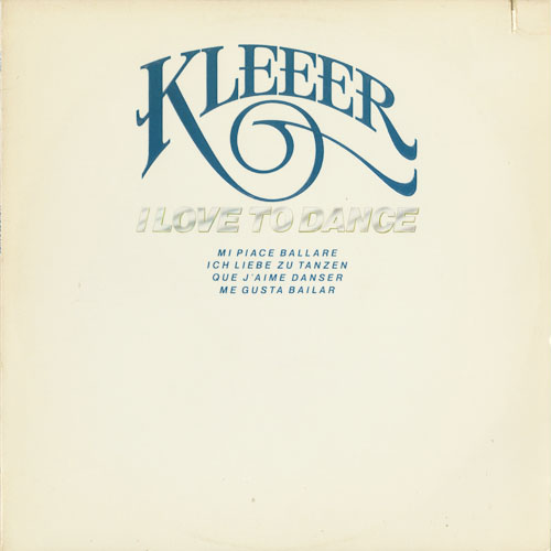 KLEEER_I LOVE TO DANCE_201211