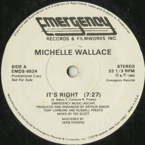 MICHELLE WALLACE_ITS RIGHT_201211