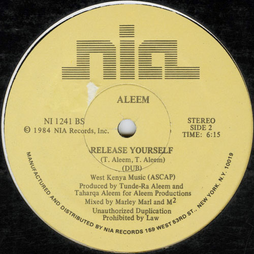 ALEEM_RELEASE YOURSELF_201211