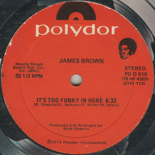 JAMES BROWN_ITS TOO FUNKY IN HERE_201211
