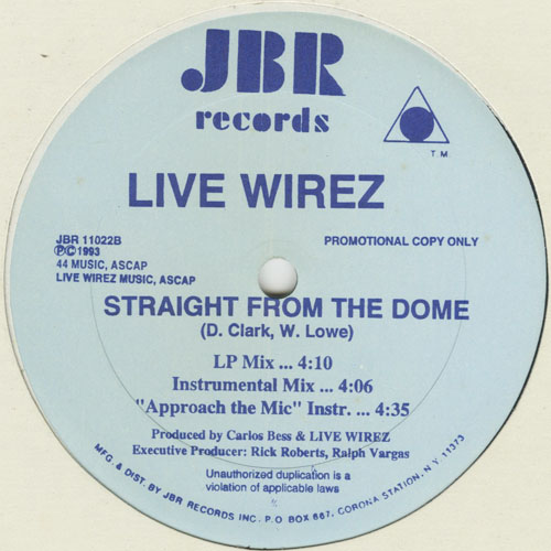 LIVE WIREZ_STRAIGHT FROM THE DOME_201211