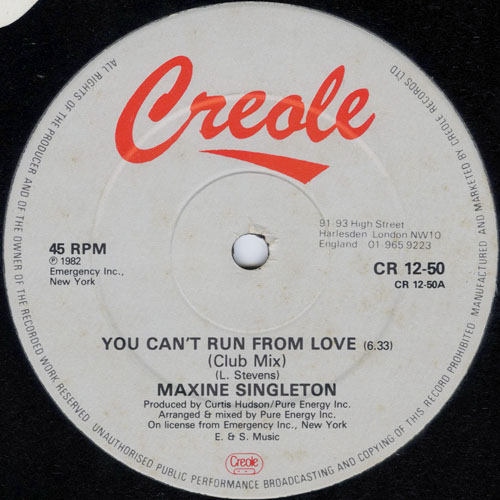 MAXINE SINGLETON_YOU CANT RUN FROM LOVE_201211