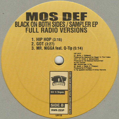 MOS DEF_BLACK ON BOTH SIDES_SAMPLER EP_201211