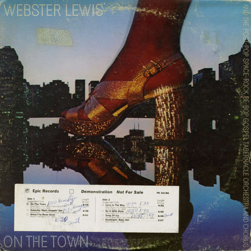 WEBSTER LEWIS_ON THE TOWN_201211