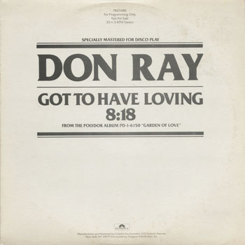 DG_DON RAY_GOT TO HAVE LOVING_201308