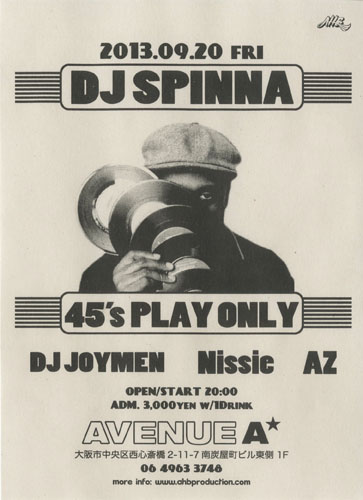 DJ SPINNA_45_201309