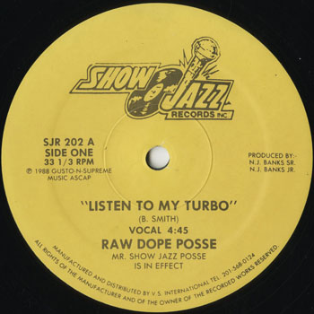 HH_RAW DOPE POSSE_LISTEN TO MY TURBO_201310