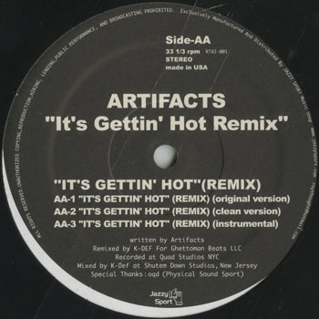 HH_ARTIFACTS_ITS GETTIN HOT REMIX_201310