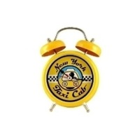 Yellow Can clock