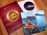 Disney Cruise brochure