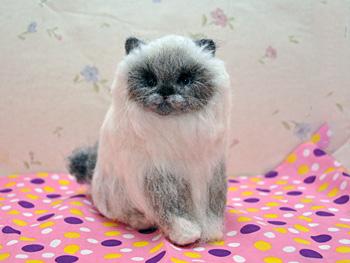 フェルト猫ちゃん