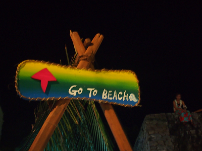 GO TO BEACH