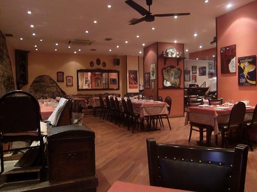 GALATAレストランの店内
