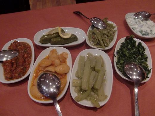 GALATAレストラン前菜