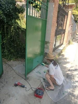 ペンキ塗り4