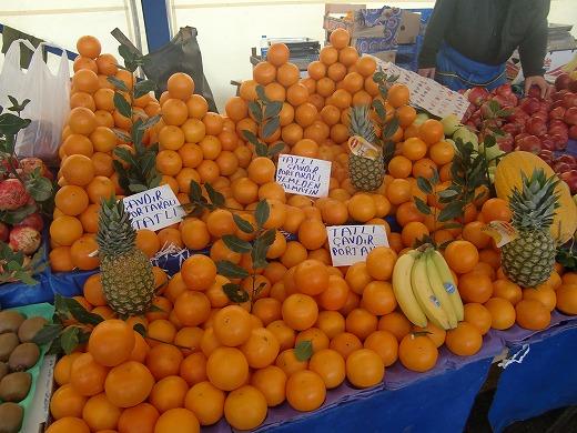 オレンジいっぱい