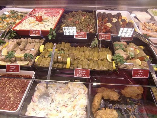 トルコのお惣菜