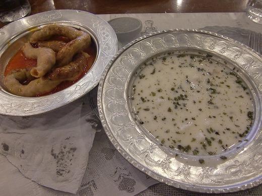 メインとスープ