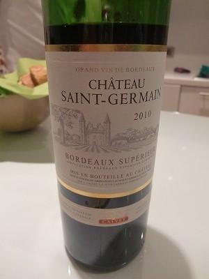ゲストが持って来てくれたワイン