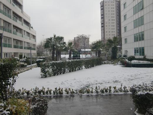 雪@トルコ