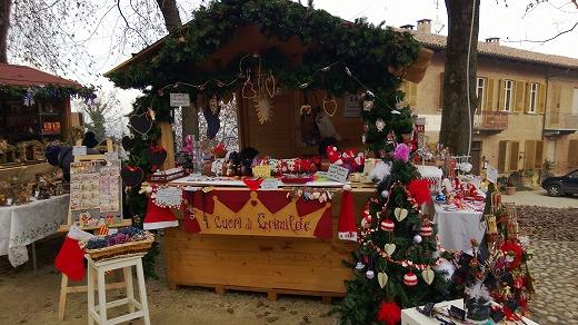 クリスマスマーケットの露店1