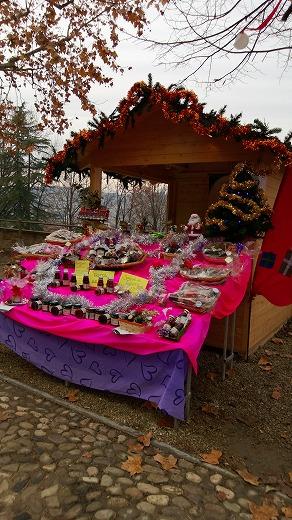 クリスマスマーケットの露店2