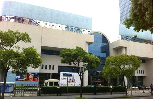 IEBGの会場INTEX Shanghai
