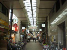 佐竹商店街アーケード