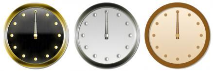 アナログ時計サンプル