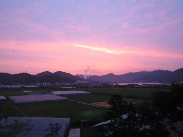 2012 6月4日須崎朝焼け